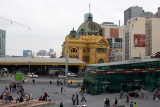 3601 - 13:17 Flinders St Station And Federation Square