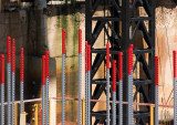 20100215_5101 Red Poles, Under Construction (Monday 15 Feb)