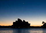 20100512_8473 Sydney Opera House Silhouette With Crescent Moon (Wed 12 May)
