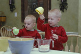 Baking Christmas Cookies - 2007
