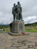 Commando Monument , Moorlands, Scotland