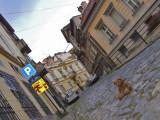 A quiet street of Old Belgrade...