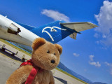 We have just landed at Tivat airport!