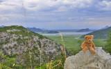 Above the Skadar lake
