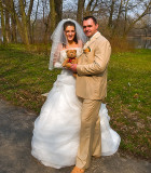 Just married: Karina and Paul !
