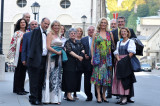 UBIT-Teilnehmer am Herbert von Karajan-Platz
