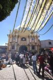 Iglesia Catolica Durate la Festividad Local