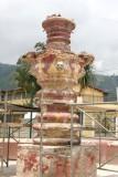 Reconstruccion de la Fuente Junto a la Iglesia