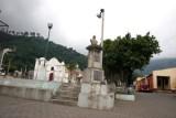 Monumento al Fundador del Poblado Sancho e Barahona