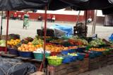 Venta de Fruta en la Plaza Central