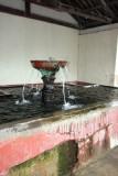 Detalle de la Fuente en el Lavadero Publico