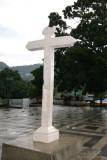 Detalle de la Cruz Frente a la Plaza Central
