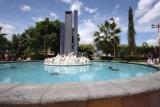 Fuente en el Centro del Parque