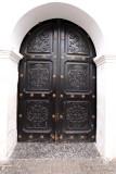 Detalle de la Puerta de La Iglesia Catolica