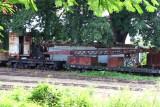 Vagon con Grua Para Carga y Descarga