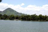 Vista Panoramica de la Parte Oriental del Lago de Amatitlan