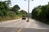 Calzada de Ingreso al Poblado Desde Quetzaltenango