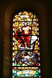 Vitral de la Iglesia Catolica