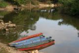 Lanchas en el Rio La Pasion