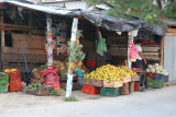 Vendedor de Fruta en el Mercado Local