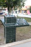 Monumento en el Parque Fraternidad
