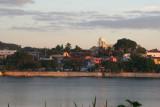 Vista del Amanecer en la Isla de Flores Desde Esta Aldea