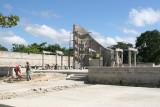 Parque Central en Remodelacion (Nov 2009)