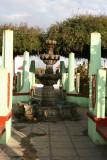 Fuente en el Parque Central