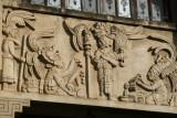 Detalle del Relieve en el Edificio Municipal
