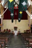 Interior de la Igleia Catolica