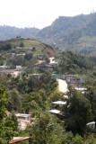 Vista Panoramica de la Ruta a Tacana