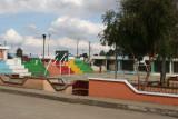 Cancha de Basquetbol en el Parque Central