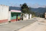 Calle de Ingreso en Proceso de Pavimentacion