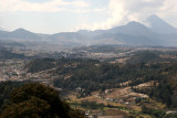Vista de San Cristobal Totonicapan Desde esta Cabecera