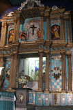 Detalle de la Riqueza del Altar Mayor de la Iglesia