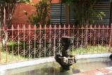 Pequeña Fuente en el Parque Central
