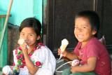 Inocente Sonrisa de Niños del Lugar