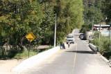 Calle de Ingreso al Centro de la Poblacion