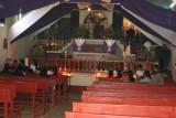 Interior de la Iglesia El Calvario