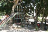 Juegos Infantiles en el Parque Central
