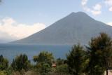 Vista del Volcan San Pedro Desde Esta Cabecera