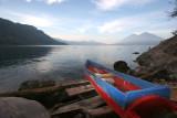 Panoramica del Lago Desde la Zona de Aguas Termales