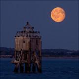 Larick Pile Moonrise.