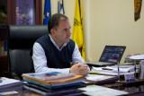 The mayor of Agios Georgeos and Milia