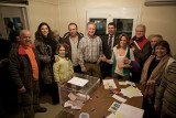 The first democratic elections for the board of The Friends of the Milia museum