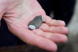 Een vuurstenen artefact uit de oudheid. Bingo!!