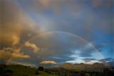 Rainbow over Blaenau Ffestiniog