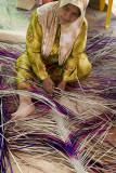 Nipah fronds carpet weaver (7433)