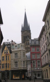 approching to the Aachener Dom