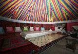 Inside Of A Kazakhs' Yurt